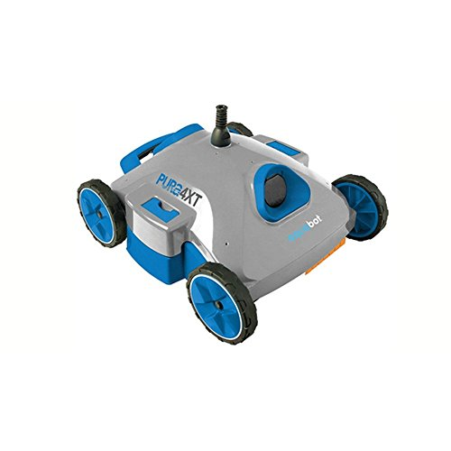 AQUABOT Ajet123 Pura 4x Pool Cleaner Robotic- For Above-Ground and smaller In-ground pools