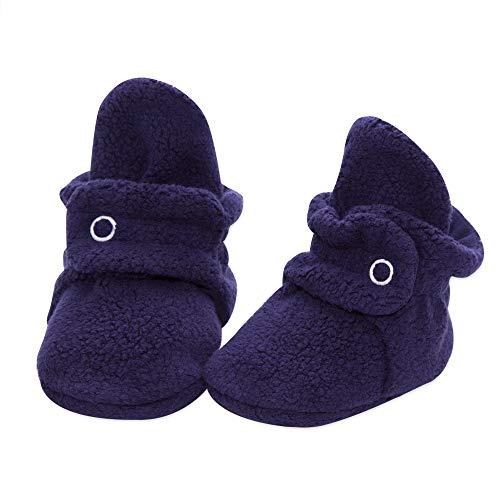 Zutano Cozie Fleece Baby Booties, Unisex Baby Shoes