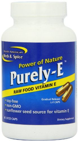 North American Herb and Spice, Purely-e Gel-Capsules, 60-Count