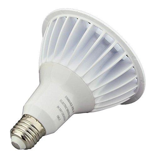 LEDwholesalers UL Dimmable LED PAR38 Spot/Flood Light Bulb With Interchangeable Lens 16-Watt, White, 1335WH - фото 8