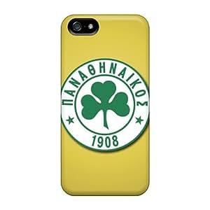 Excellent Design Panathinaikos Fc Phone Case For Iphone 5/5s Premium Tpu Case