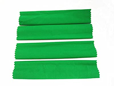 For Traxas 1/5 X-MAXXXX XMAXXXX Shock Damper High Elastic Sleeves Dirt Dust Resist Guard Cover - 4pcs Green