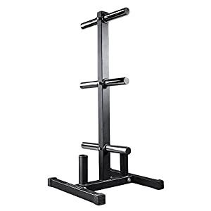 Rep Olympic Bumper Plate and Bar Holder Weight Tree Storage Rack