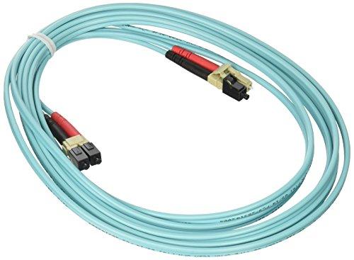 C2G/Cables to Go 21602 LC-LC 10GB 50/125 OM3 Duplex Multimode Fiber Optic Cable (3 Meters, -