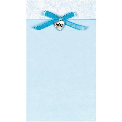 Blue Toile Imprintable Invitations, 8ct
