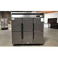 SIX DOOR COMMERCIAL COOLER REFRIGERATOR Reach In RESTAURANT EQUIPMENT