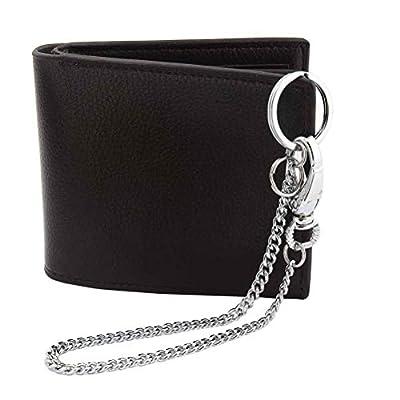 Wallet Chain, Liangery Wallet Long Purse Chain Punk Key Chain With Chain for Biker Trucker Motorcycle Pants Jean, Silver 11.81 inch for Men Women: Office Products