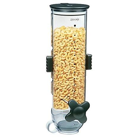 Zevro PROZ - Dispensador de cereales y comida deshidratada, Snack montado en la pared 13 oz único: Amazon.es: Hogar