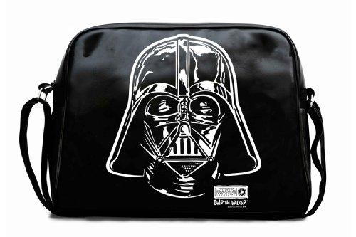 Darth Vader bandolera - La bolsa de mensajero del hombre - La guerra de las galaxias - Star Wars - Diseño original con licencia - LOGOSHIRT