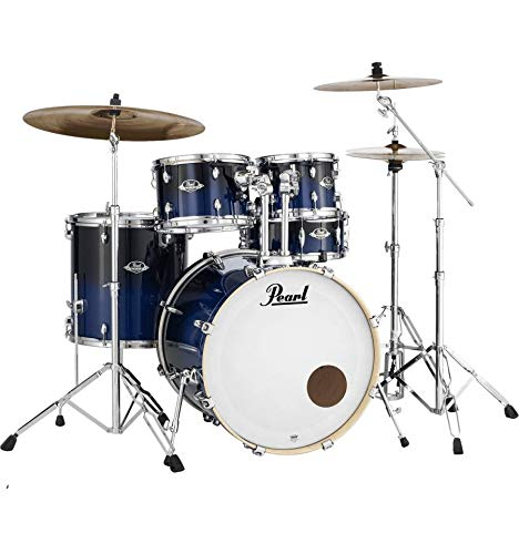 Batería Pearl Export Laquer Rock 22 '5 FUTS Sea Blue Fade