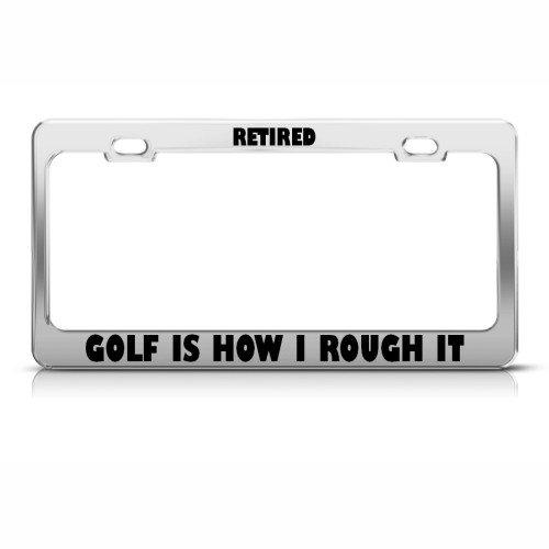Retired Golfing Rough License Holder product image