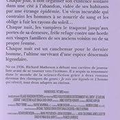 Amazon.fr - Je suis une légende - Richard Matheson, Nathalie Serval - Livres