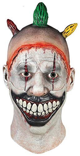 Trick or Treat Twisty Economy Mask Adult Costume Accessory (American Horror Story Twisty The Clown Costume)