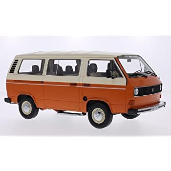 Amazon.com: VW T3 Bus, orange/beige, Model Car, Ready-made