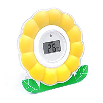 Amazon.com : TensCare Digi Daisy Digital Baby Bath and Room Thermometer by TENScare : Baby