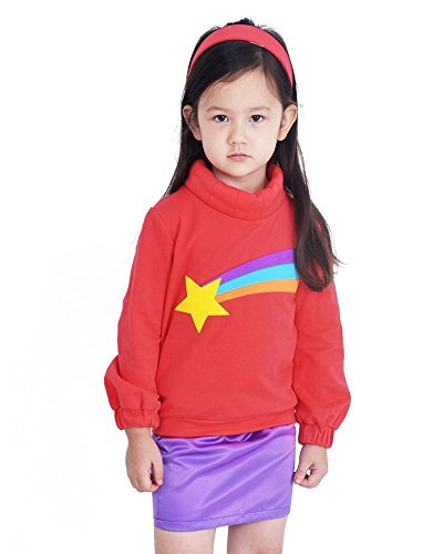 Mabel Gravity Falls Halloween Costume (Coskidz Children's Mabel Pines Cosplay Costume Halloween (One Size))