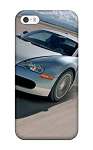 Premium Durable Bugatti Veyron 3 Fashion Tpu Iphone 5/5s Protective Case Cover