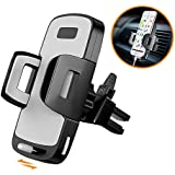 Phone Holder for Car, Stoon Universal Car Air Vent Mount with Slidable Base, Adjustable Cell Phone Car Cradle for iPhone X 8/7 Plus 8 7 6/6s Plus 6/6s, Galaxy S9/S8 Plus S9 S8 Note 8, and etc. (Black)