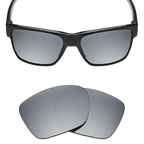 fe3a2ee1d7974 Mryok - Lentes de repuesto para Oakley TwoFace XL, Xeld Polarized - Stills  Silver,
