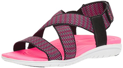 Women's Athletic Ryka Sandal Grey Black Belmar Cq1dPS