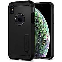 Spigen Tough Armor Designed for Apple iPhone X Case (2018) / Designed for Apple iPhone X Case (2017) - Matte Black