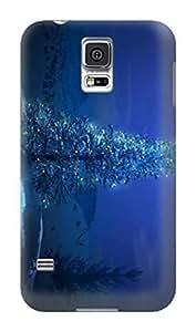 Custom Lightweight Waterproof Merry Christmas New fashionable TPU Phone Protector Cover for Samsung Galaxy s5 hjbrhga1544