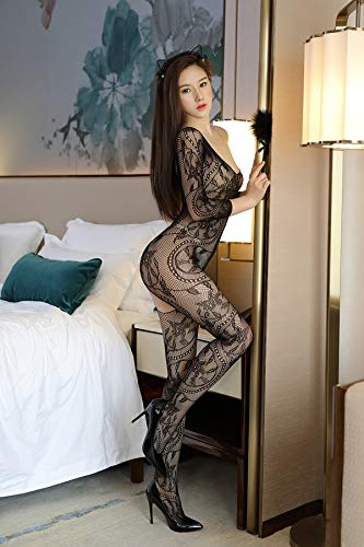 (Mink Monk 7 Colors Sexy Fishnet Teddy Bodysuit Corsets Costume Erotic Lingerie Bustiers Crotchless Halterneck Bodystocking Sex)