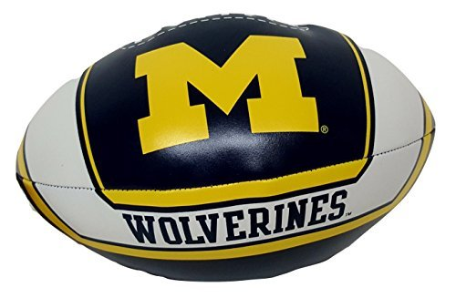 NCAA Softee Football Toy (Michigan (Plush Ncaa Football)