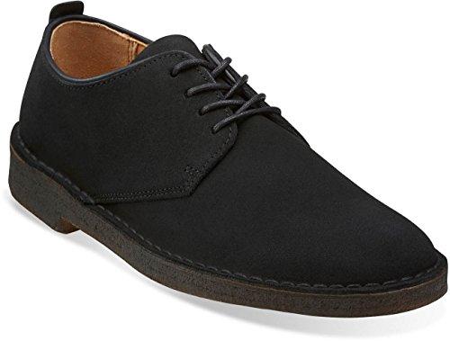 Clarks - Mens Desert London Low Boot, Size: 14 D(M) US, Color: Black Sde