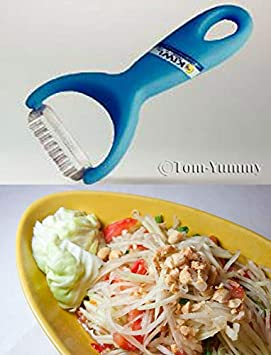 Kiwi Pro Slice Peeler First Class UK Delivery Papaya Salad Shredder Som Tum