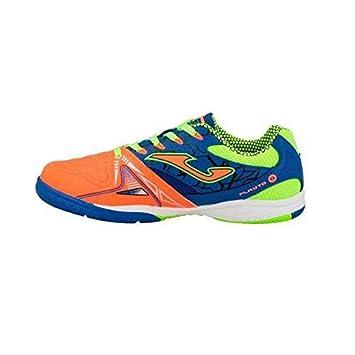 Joma Dribling JR 708 - Zapatillas de fútbol Sala, Niño, Naranja/Azul/Verde, 38: Amazon.es: Deportes y aire libre