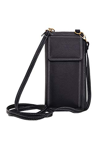 GLOWIC Girls Women Women's wallet sling bag for with Mobile Cell Phone holder Pocket Wallet Hand Purse Clutch Crossbody…