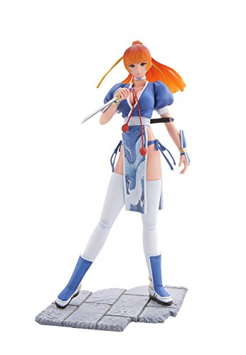 - Mon-Sieur Bome Collection Vol.15 Dead or Alive Pre-Painted Figure: Kasumi (Blue Version) by Kaiyodo