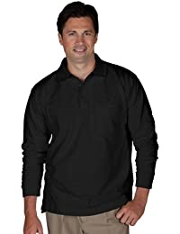 Big And Tall Soft Touch Blended Pique Polo Shirt