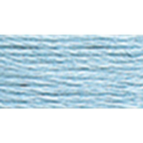 DMC 116 8-827 Pearl Cotton Thread Balls, Very Light Blue, Size 8 ()