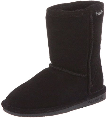 BEARPAW Emma 6.5 Inch Boot (Little Kid/Big Kid),Black II,12 M US Little Kid
