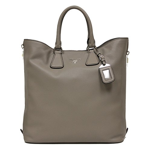 Prada-Vitello-Phenix-Large-Textured-Leather-Shopping-Tote-Bag-BN2419-Grey