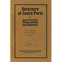 Directory Of Spare Parts For Harley Davidson Motorcycles And Sidecars