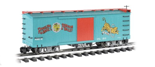 Bachmann Industries Ringling Bros. Barnum & Bailey - Box Car - Tiger #32 - Large