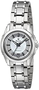 Bulova Women's 96M108 Precisionist Longwood MOP Dial Steel Bracelet Watch