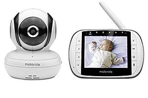 Motorola Mbp36S Audio & Video Baby Monitor