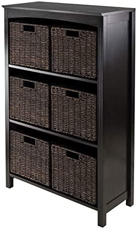 Reviewed: Winsome Terrace 7-Piece Storage Shelf/Bookcase