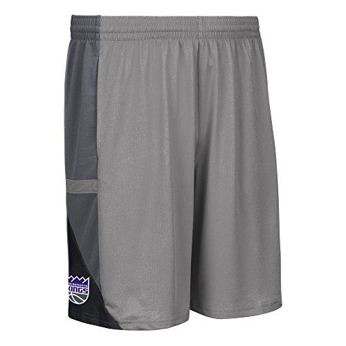 NBA Sacramento Kings Men's Tip-Off Mesh Shorts, X-Large, Black