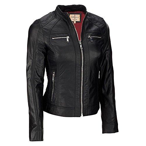 Vintage Leather Moto Jacket - 7