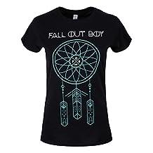 Fall Out Boy Women's Dream Catcher FOB T-shirt Black