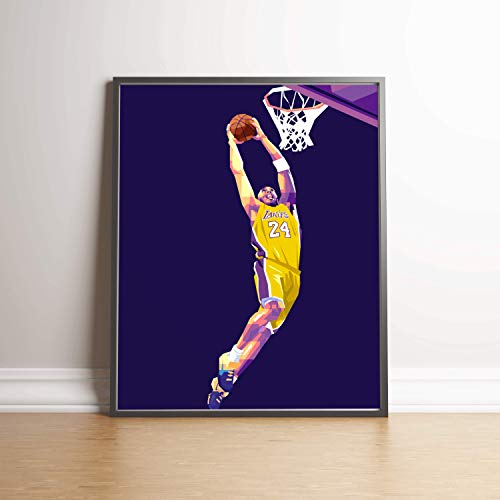 Kobe Bryant Limited Edition Poster Wall Art Wall Merchandise (Additional Sizes) (11x14) (Print Edition Photographic Limited)