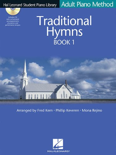 (Traditional Hymns Book 1: Hal Leonard Student Piano Library Adult Piano Method)