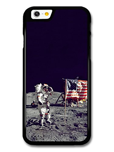 Astronaut on the Moon American USA Flag Photography case for iPhone 6 6S