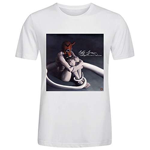 (Biffy Clyro Glitter And Trauma T-shirt For Men White)