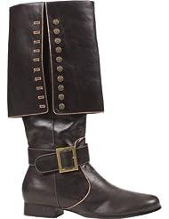 Captain Adult Costume Shoes Black - Large